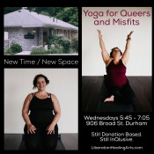 Yoga for Queers and Misfits - New Time and Location