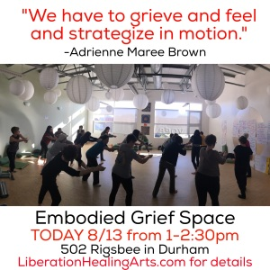 embodied grief space